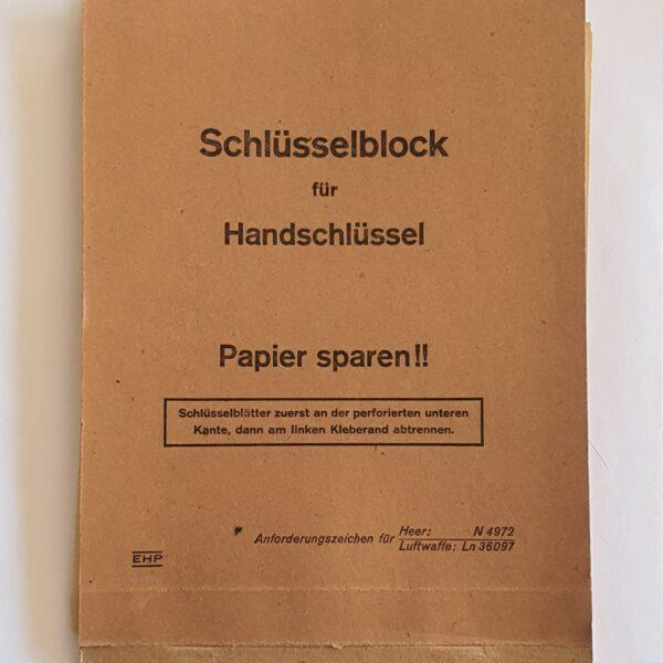 schlüsselblock für handschlüssel